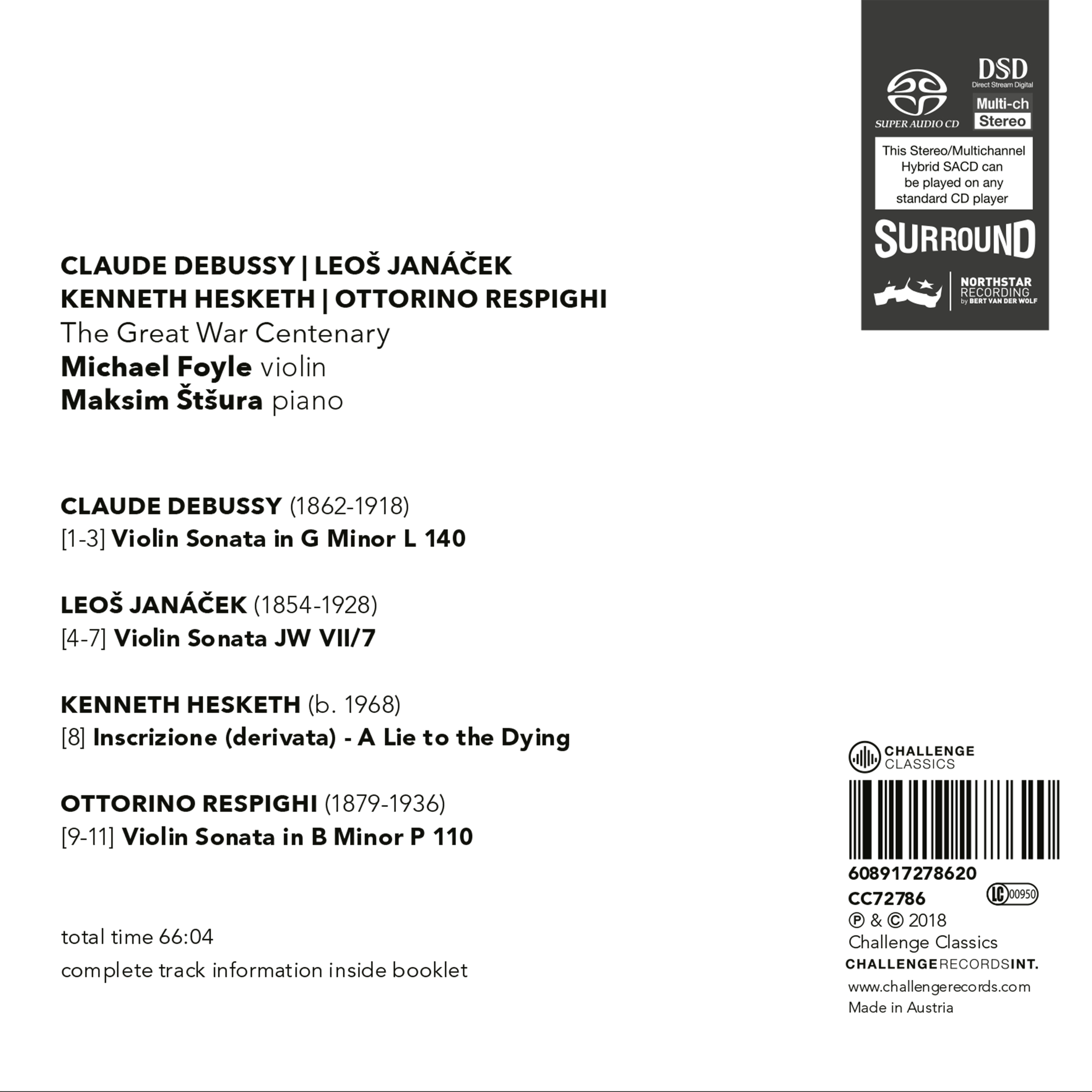 CC72786 Michael Foyle_back cover - Services for Music